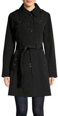 Gallery Point Collar Trench Coat