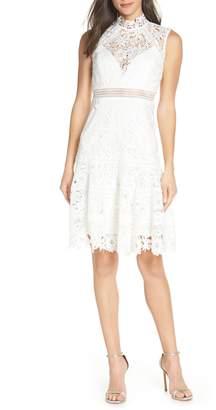 Bardot Elise Lace Cocktail Dress