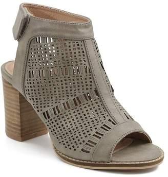 Catherine Malandrino Shina Stacked Heel Peep Toe Sandal