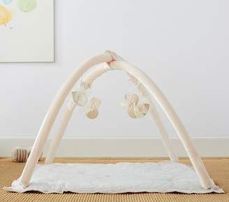 Pottery Barn Kids Monique Lhuillier Gold Swans Activity Gym