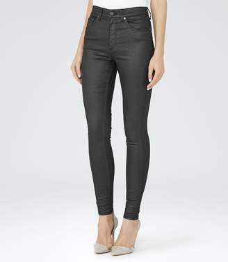 Reiss Helvin Coated Coated Skinny Jeans