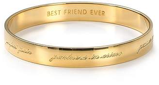 Kate Spade Bridesmaid Engraved Idiom Bangle
