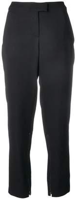 Giorgio Armani high waist tapered trousers