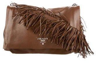 pradaPrada Nappa Fringe Crossbody Bag