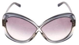 Tom Ford Margot Logo Sunglasses