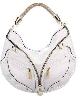 Versace Leather Hobo Bag
