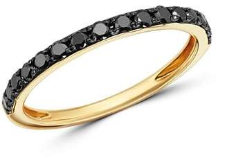 Bloomingdale's Black Diamond Stacking Ring in 14K Yellow Gold - 100% Exclusive