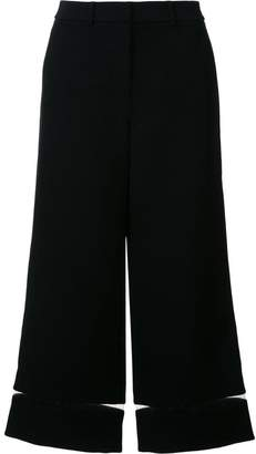Alexander Wang fishing line trim cropped trousers