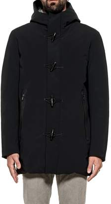 Rrd Roberto Ricci Design RRD - Roberto Ricci Design Black Montgomery Hooded Down Jacket