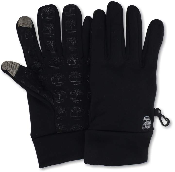 Timberland Men's Commuter Glove Stretch Tree Logo Palm with Touchscreen Technology