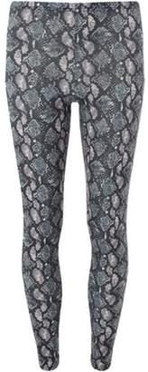 Dorothy Perkins Womens Multi Colour Snake Print Leggings