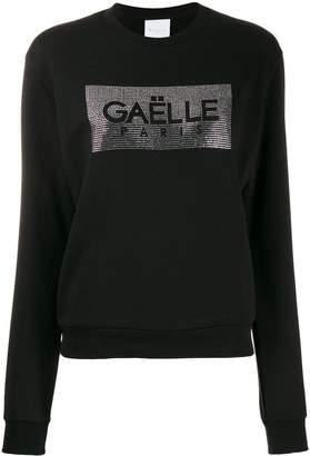 Gaelle Bonheur crystal embellished sweatshirt