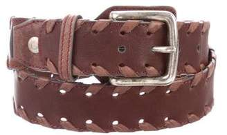 Chloé Woven Leather Belt