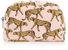 Skinnydip London Skinnydip Leopard Print Cosmetic Bag