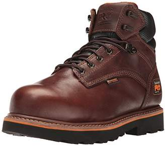 """Timberland Men's Ascender 6"""" Internal Met Guard Alloy Toe Industrial and Construction Shoe"""