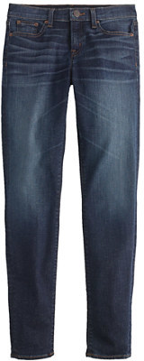 J.Crew Toothpick Cone Denim® jean in parker wash