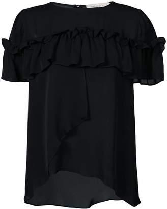 Nicole Miller frill embellished shirt