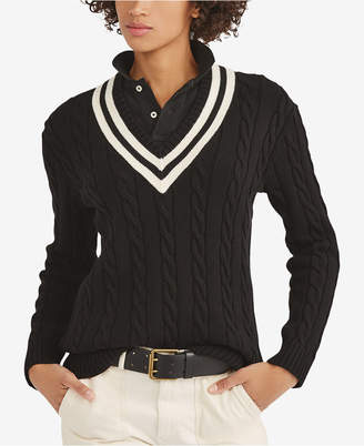 Polo Ralph Lauren Cotton Cricket Sweater