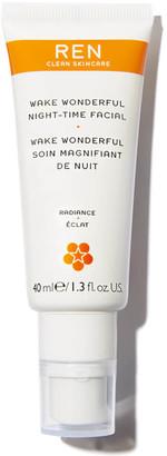 Ren Clean Skincare REN Wake Wonderful Night-Time Facial 40ml