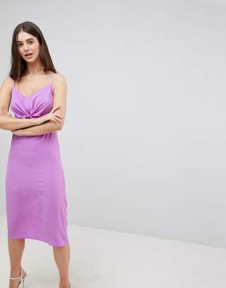 AX Paris Bow Front Midi Dress