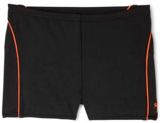 Speedo NEW Boys Endurance + Logo Aquashort Black