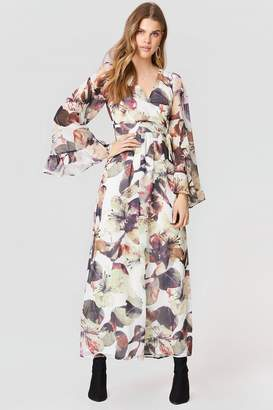 Lucca Couture Hailey Belted Maxi Dress