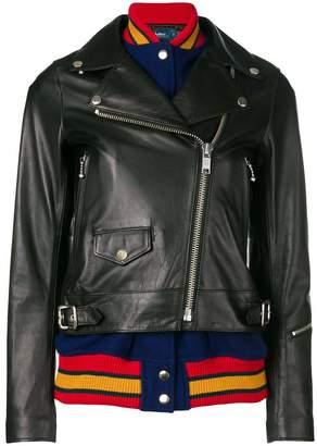 Kolor biker jacket