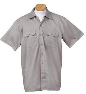 Dickies Men's Moisture Wicking Half Sleeve Work Shirt