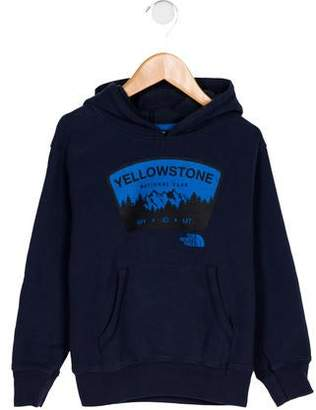 The North Face Boys' Printed Hooded Sweatshirt