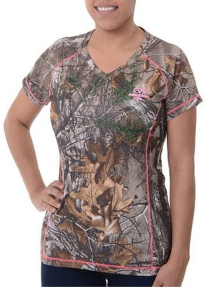 Mossy Oak Realtree and Women's Camo Short Sleeve Performance Tee