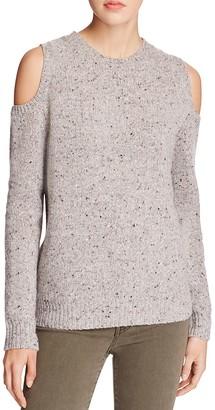 Rebecca Minkoff Page Cold-Shoulder Sweater $148 thestylecure.com