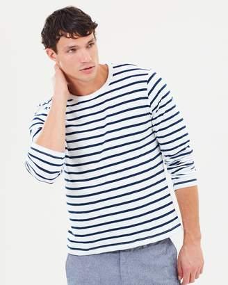 J.Crew Deck Striped LS T-Shirt