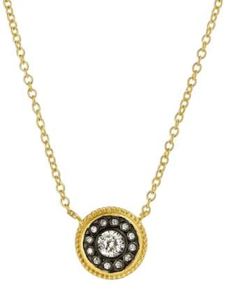 Freida Rothman 'Hamptons' Nautical Button Pendant Necklace