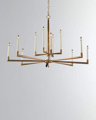 John-Richard Collection Modern 12-Light Chandelier