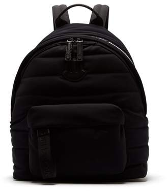 Moncler Pelmo Quilted Backpack - Mens - Black