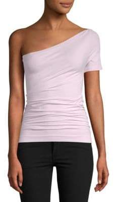 Helmut Lang One-Shoulder Top