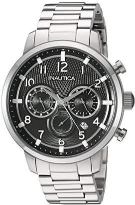 Nautica Men's 'NCT 15 CHRONO' Quartz Stainless Steel Casual Watch