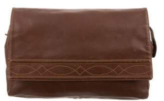 Bottega Veneta Leather Oversize Clutch