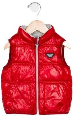 Giorgio Armani Baby Boys' Puffer Vest
