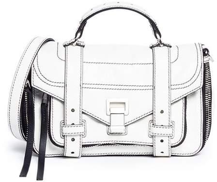 Proenza Schouler 'PS1' tiny lambskin leather crossbody bag
