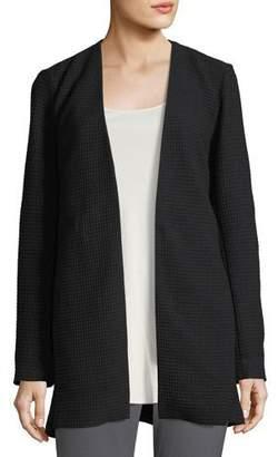 Eileen Fisher Geometry Textured Jacket, Plus Size