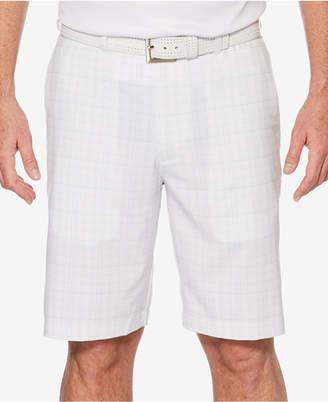 PGA Tour Men's Grid-Print Shorts
