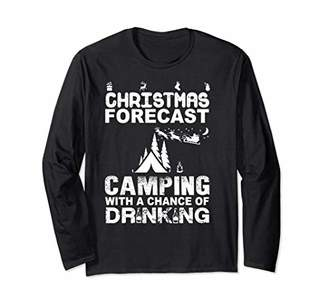 Hard Tail Christmas_Camping Beauty For Gift Long-Sleeve-Tee