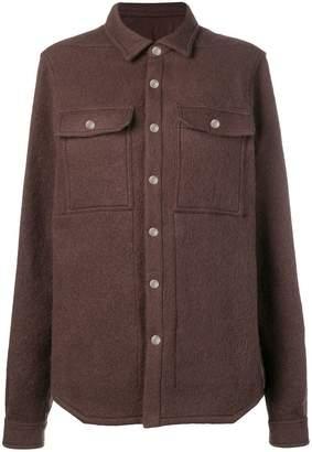 Rick Owens overshirt coat