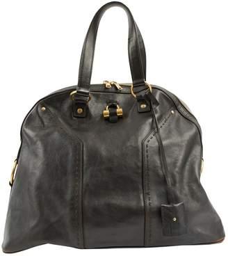 Saint Laurent Muse leather tote