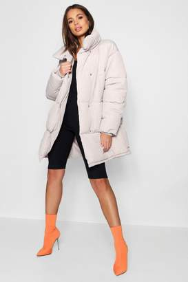 boohoo Tall Padded Jacket