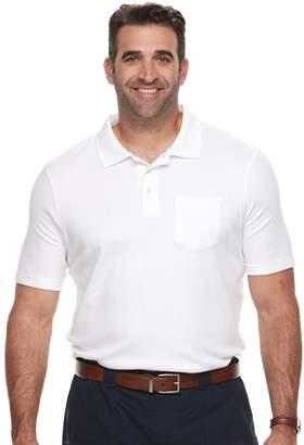 Croft & Barrow Big & Tall Classic-Fit Easy-Care Interlock Pocket Polo