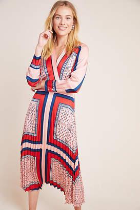 Scotch & Soda Thalia Pleated Midi Dress