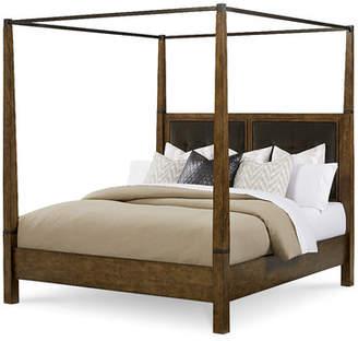 Loon Peak Segula Upholstered Canopy Bed
