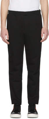 Alexander McQueen Black Zip Lounge Pants